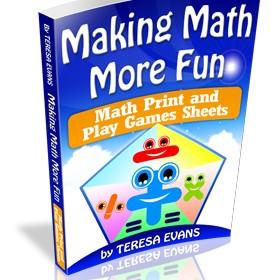 Math Print and Play Games Sheets